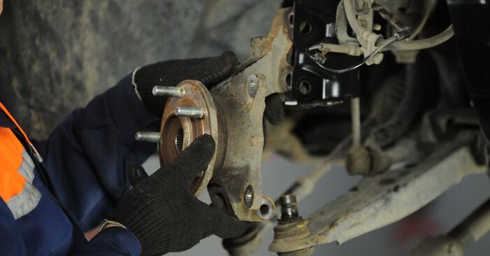 Wie DODGE CALIBER 2.4 2010 Radlager ausbauen - Einfach zu verstehende Anleitungen online