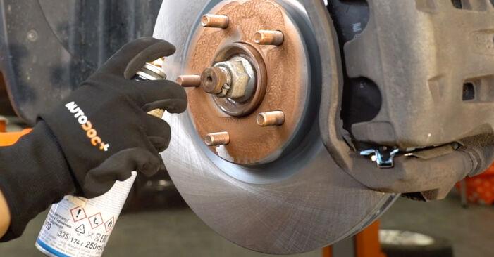 Radlager am DODGE CALIBER 2.2 CRD 2011 wechseln – Laden Sie sich PDF-Handbücher und Videoanleitungen herunter