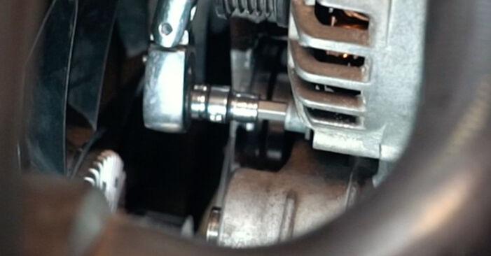 Wie schwer ist es, selbst zu reparieren: Thermostat Audi A4 B5 S4 2.7 quattro 2000 Tausch - Downloaden Sie sich illustrierte Anleitungen