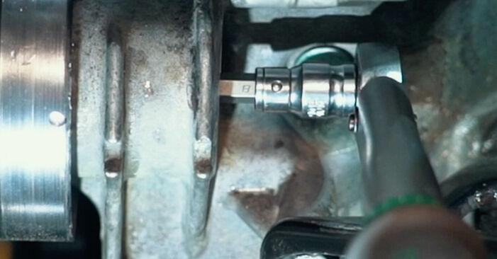 Thermostat beim AUDI A4 2.5 TDI 2001 selber erneuern - DIY-Manual