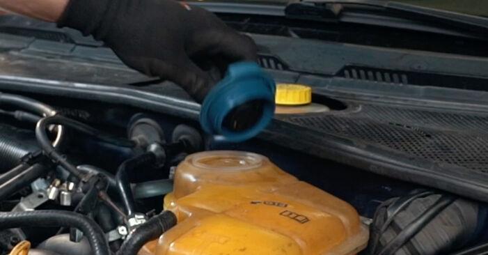 Austauschen Anleitung Thermostat am Audi A4 B5 1996 1.6 selbst