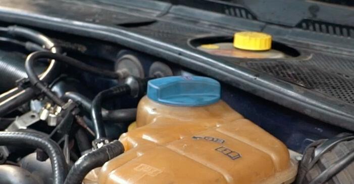 Wie AUDI A4 1.8 T quattro 1998 Thermostat ausbauen - Einfach zu verstehende Anleitungen online