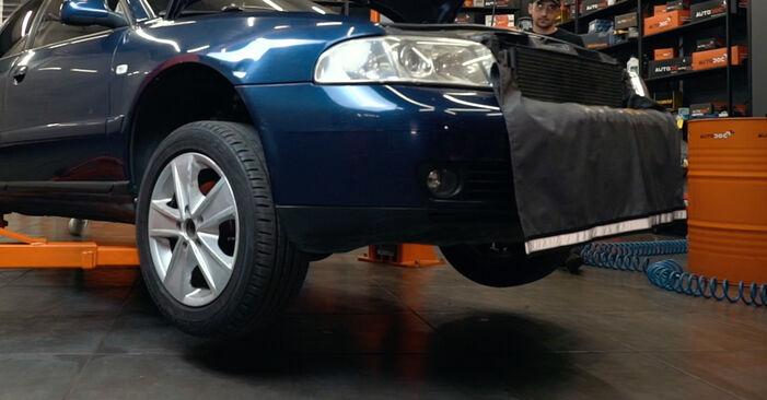 Vanskelighetsgrad: Bytte av ABS Sensor på Audi A4 B5 S4 2.7 quattro 2000 – last ned illustrert veiledning