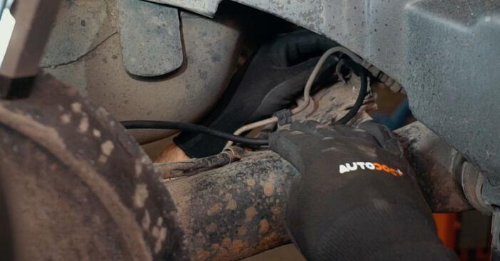 Austauschen Anleitung ABS Sensor am Audi A4 B5 1996 1.6 selbst