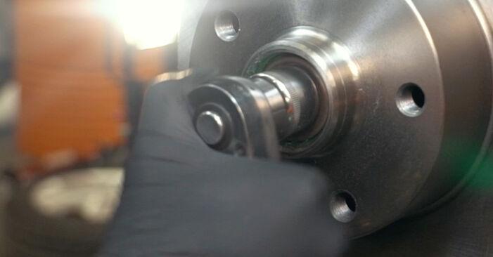 AUDI A4 1.9 TDI Radlager ausbauen: Anweisungen und Video-Tutorials online