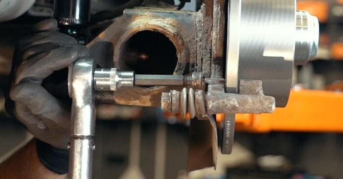Schritt-für-Schritt-Anleitung zum selbstständigen Wechsel von Audi A4 B5 1999 1.8 T quattro Radlager