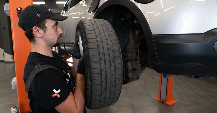 Vanskelighetsgrad: Bytte av Bremsecaliper på Nissan Qashqai j10 2.0 Allrad 2012 – last ned illustrert veiledning
