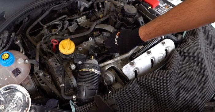 Mennyi ideig tart a csere: Rugózás Nissan Qashqai j10 2006 - tájékoztató PDF útmutató