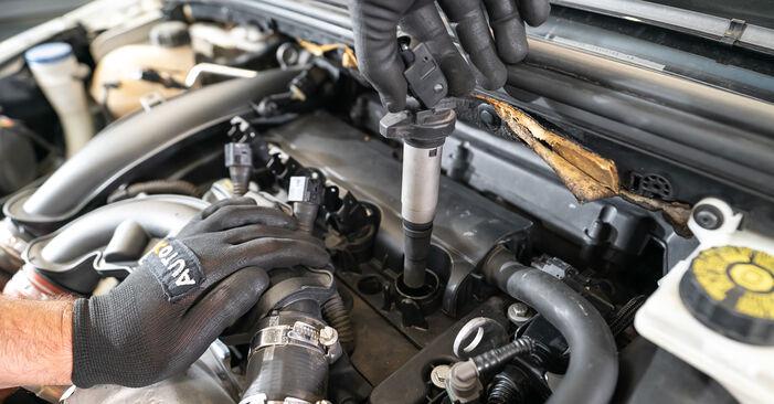 Byt Tändstift på Peugeot 308 I 2007 1.6 HDi på egen hand