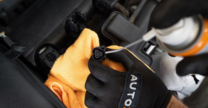 Byt 308 I Hatchback (4A_, 4C_) 1.6 HDi 2008 Tändstift – gör det själv med verkstadsmanual
