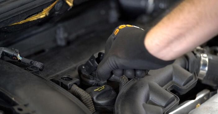 Byta Peugeot 308 I 1.6 16V 2009 Tändstift: gratis verkstadsmanualer