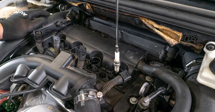 Så svårt är det att göra själv: Byt Tändstift på Peugeot 308 I 2.0 HDi 2013 – ladda ned illustrerad guide