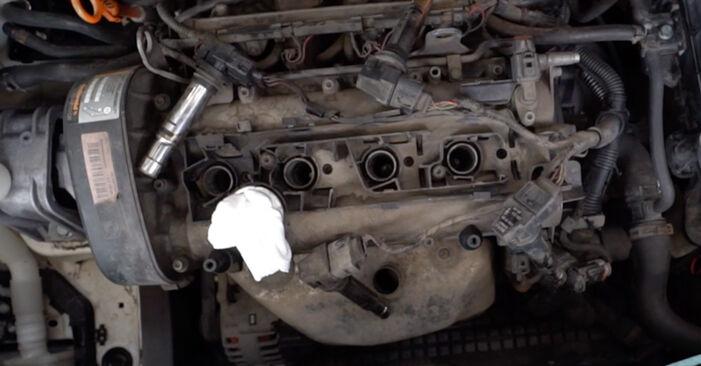 Byt Tändspole på VW Caddy 3 2014 1.9 TDI på egen hand