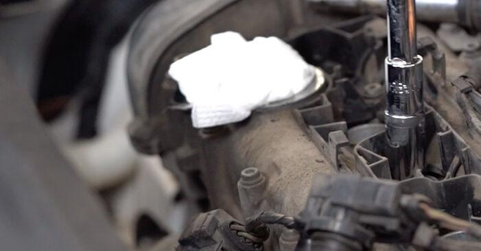 Kaip pakeisti VW Caddy III Universalas (2KB, 2KJ, 2CB, 2CJ) 1.9 TDI 2005 Uždegimo žvakė - išsamios instrukcijos ir vaizdo pamokos