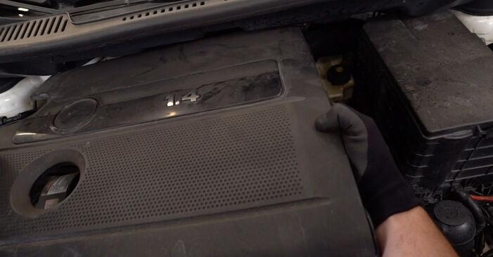 Kiek užtrunka keitimas: VW Caddy 3 2012 Uždegimo žvakė - informatyvi PDF instrukcija