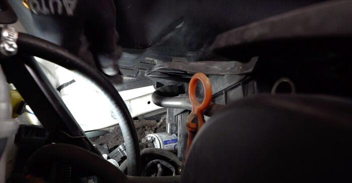 VW Caddy 3 1.6 TDI 2006 Uždegimo žvakė keitimas: nemokamos remonto instrukcijos