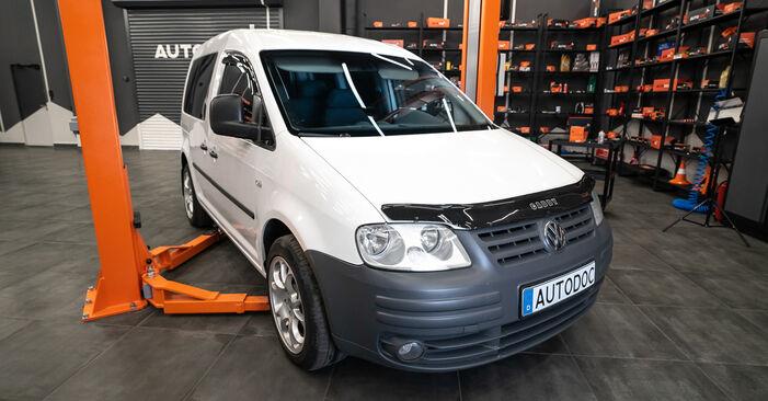 Zweckdienliche Tipps zum Austausch von Luftfilter beim VW Caddy III Kombi (2KB, 2KJ, 2CB, 2CJ) 2.0 EcoFuel 2006