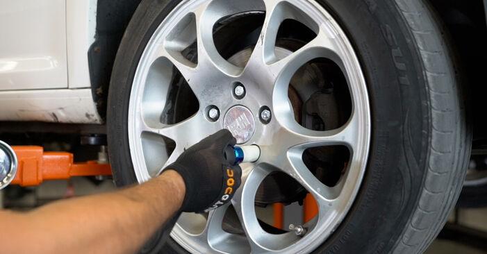 Cambie Pinzas de Freno en un VW Caddy III Familiar (2KB, 2KJ, 2CB, 2CJ) 1.6 2007 usted mismo