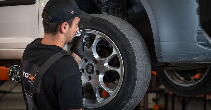 Cómo quitar Pinzas de Freno en un VW CADDY 2.0 TDI 16V 2008 - instrucciones online fáciles de seguir