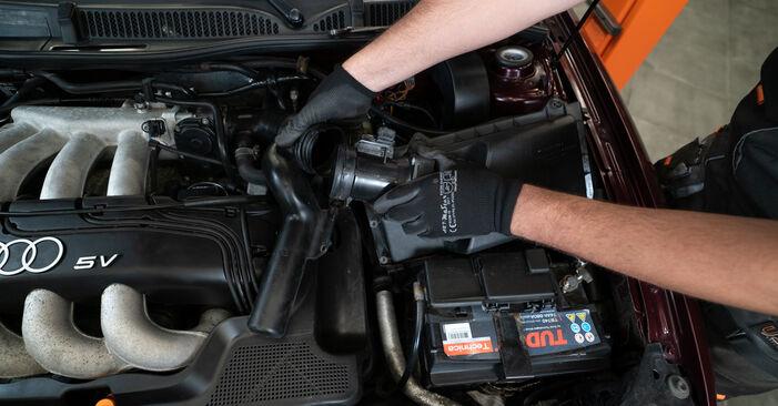 Luftfilter Ihres Audi A3 8L 1.6 1996 selbst Wechsel - Gratis Tutorial