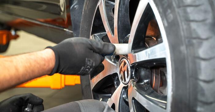 Pasikeiskite VW TOURAN (1T3) 1.4 TSI 2012 Spyruoklės patys - internetinė instrukcija