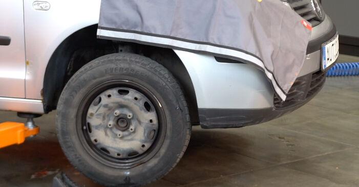Hvordan skifte VW POLO 2008 Fjærer trinn–for–trinn veiledning