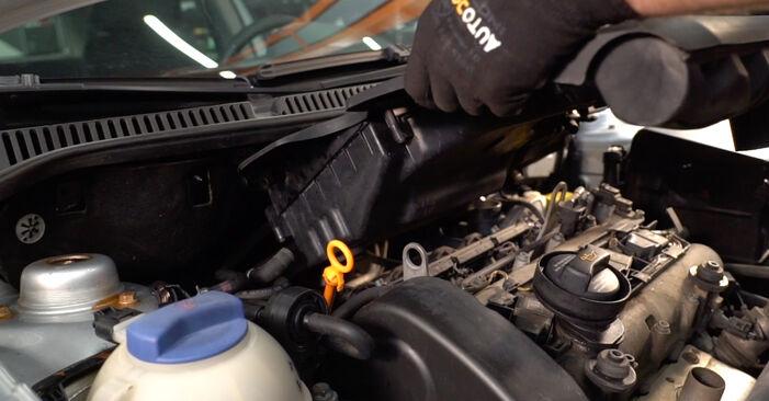 Hvordan bytte Tennplugger på VW POLO (9N_) 1.2 2004 selv