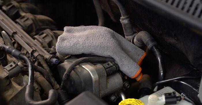 Slik skifte VW POLO 1.9 TDI 2005 Tennplugger – enkle instruksjoner på nettet som er lette å følge