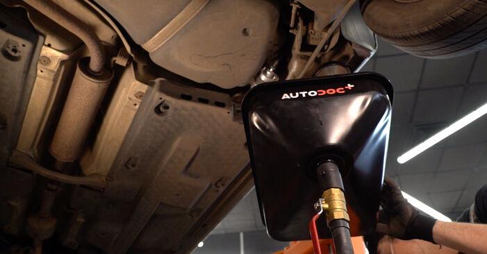 POLO (9N_) 1.9 TDI 2012 1.2 12V Kraftstofffilter - Handbuch zum Wechsel und der Reparatur eigenständig