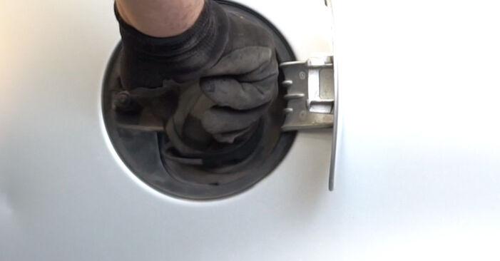 Schritt-für-Schritt-Anleitung zum selbstständigen Wechsel von Polo 9n 2002 1.9 TDI Kraftstofffilter