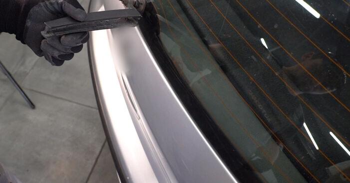 Wie Scheibenwischer VW POLO (9N_) 1.2 12V 2002 austauschen - Schrittweise Handbücher und Videoanleitungen