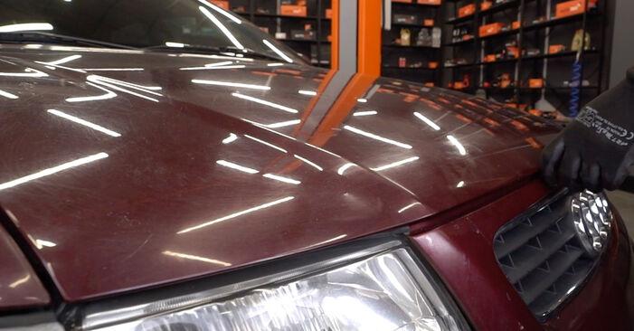 Cómo cambiar Filtro de Aceite en un Audi A3 8L 1996 - Manuales en PDF y en video gratuitos