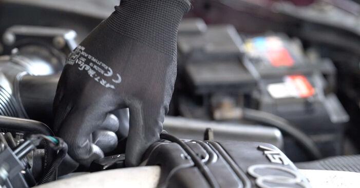 Cambie Filtro de Aceite en un AUDI A3 Hatchback (8L1) S3 1.8 quattro 1999 usted mismo