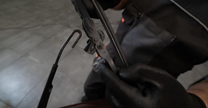 Scheibenwischer Audi A3 8L 1.6 1998 wechseln: Kostenlose Reparaturhandbücher