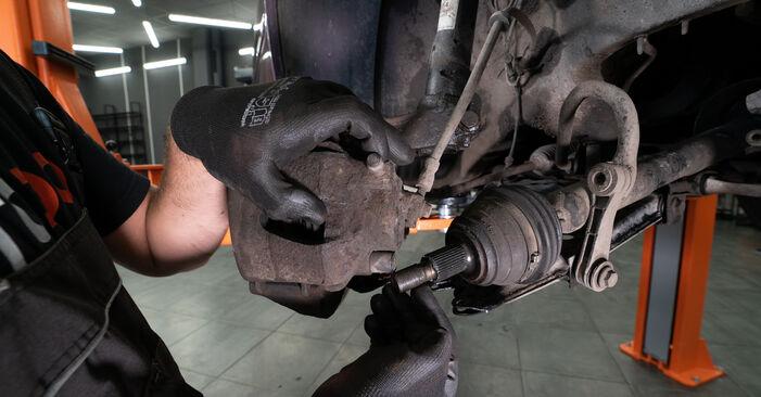 Schritt-für-Schritt-Anleitung zum selbstständigen Wechsel von Audi A3 8L 2001 1.8 Stoßdämpfer