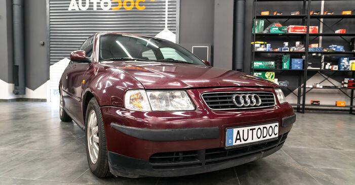 Stoßdämpfer Ihres Audi A3 8L 1.6 1996 selbst Wechsel - Gratis Tutorial