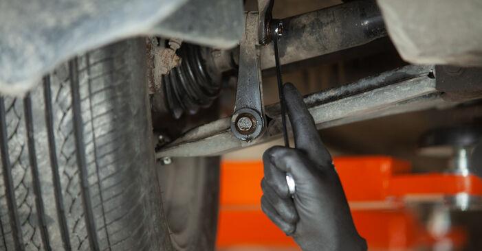 Смяна на Audi A3 8l1 1.8 T 1998 Свързваща щанга: безплатни наръчници за ремонт