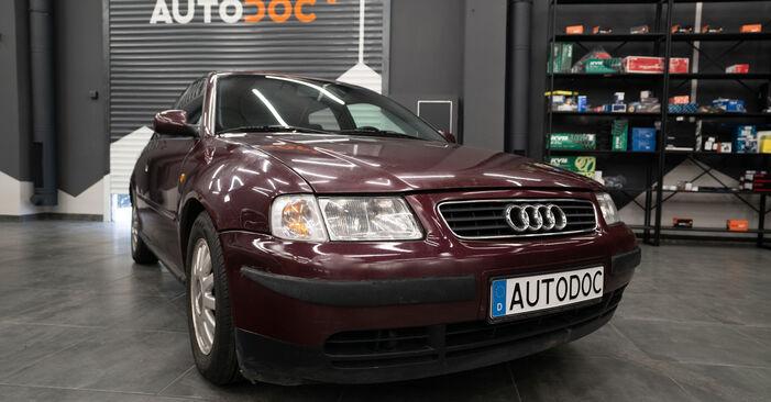 Не е трудно да го направим сами: смяна на Свързваща щанга на Audi A3 8l1 1.9 TDI 2002 - свали илюстрирано ръководство