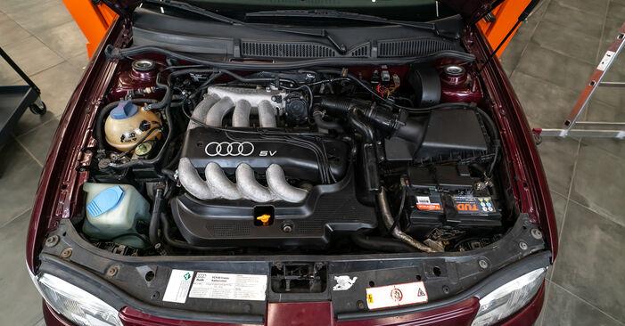 Wie Zündkerzen Audi A3 8L 1.9 TDI 1996 tauschen - Kostenlose PDF- und Videoanleitungen