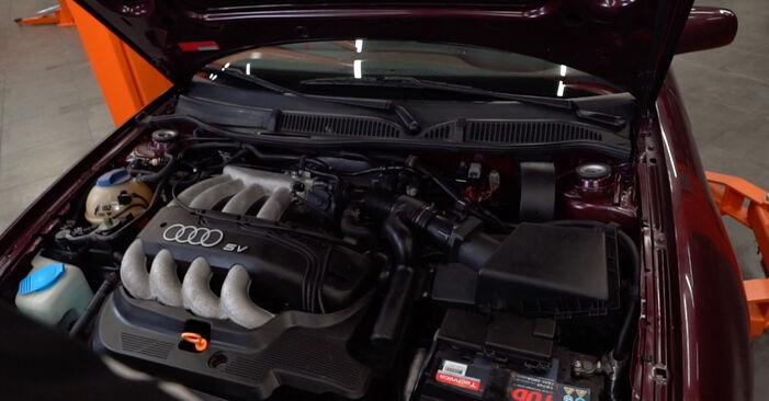 Wie Innenraumfilter Audi A3 8l1 1.9 TDI 1996 tauschen - Kostenlose PDF- und Videoanleitungen