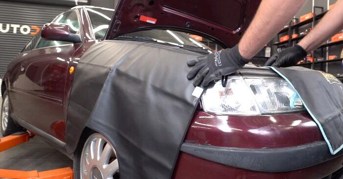 Schritt-für-Schritt-Anleitung zum selbstständigen Wechsel von Audi A3 8l1 2001 1.8 Innenraumfilter