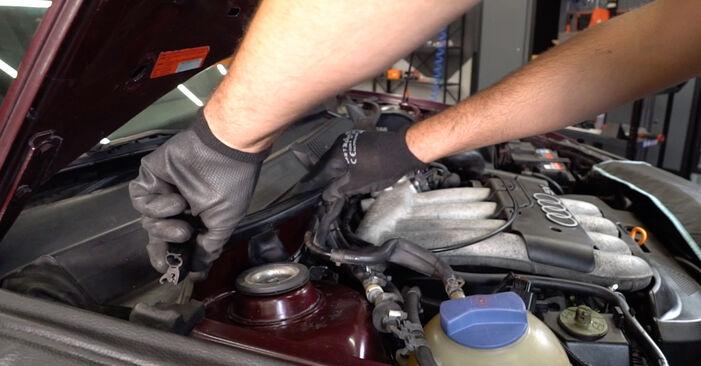 Innenraumfilter Audi A3 8l1 1.6 1998 wechseln: Kostenlose Reparaturhandbücher