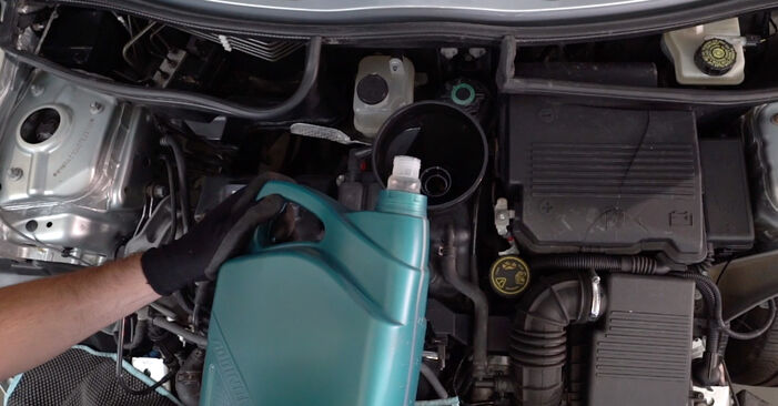 Ölfilter beim MINI MINI One 2002 selber erneuern - DIY-Manual