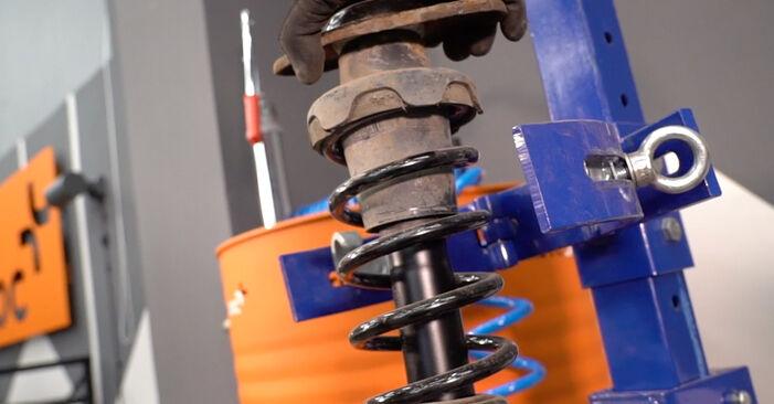 Vanskelighetsgrad: Bytte av Fjærer på MINI MINI (R50, R53) 1.6 John Cooper Works 2001 – last ned illustrert veiledning