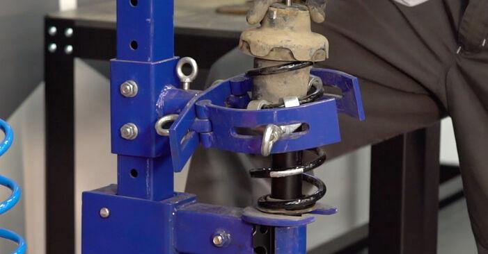 Stoßdämpfer am MINI Schrägheck (R50, R53) 1.6 Works 2006 wechseln – Laden Sie sich PDF-Handbücher und Videoanleitungen herunter