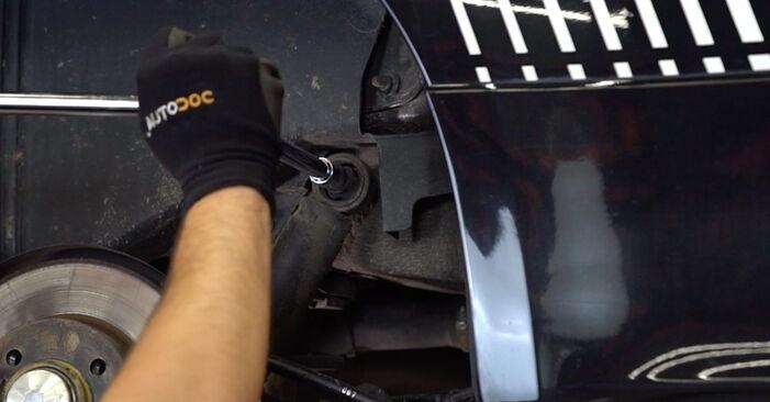 Wie schwer ist es, selbst zu reparieren: Stoßdämpfer Abarth 595 1.4 (312.AXT1A) 2014 Tausch - Downloaden Sie sich illustrierte Anleitungen