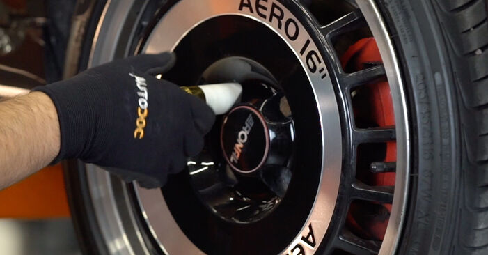 ABARTH 500 / 595 1.4 (312.AXD1A) Springs replacement: online guides and video tutorials