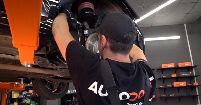 500 / 595 / 695 Hatchback (312_) 1.4 (312.AXZ11) 2019 Springs DIY replacement workshop manual