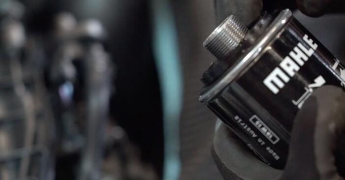 VW GOLF 2.0 GTi Ölfilter ausbauen: Anweisungen und Video-Tutorials online