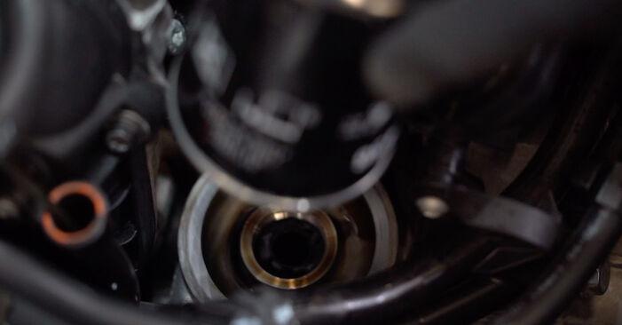 Austauschen Anleitung Ölfilter am Golf 6 2012 1.6 TDI selbst